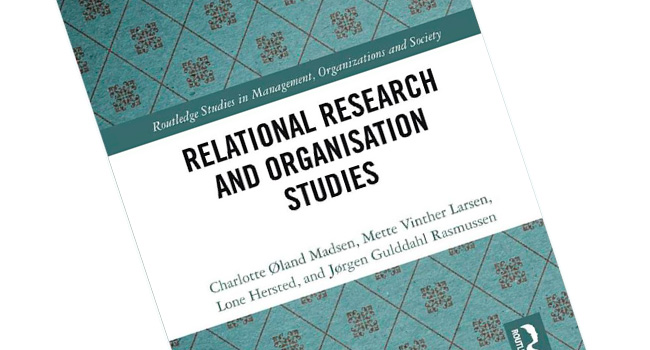 New book: Relational Research and Organisation Studies