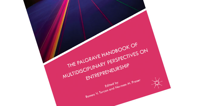 New Book: The Palgrave Handbook of Multidisciplinary Perspectives on Entrepreneurship